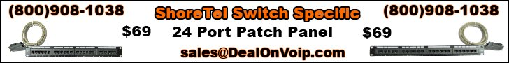 ShoreTe Switch Specific Patch Panel